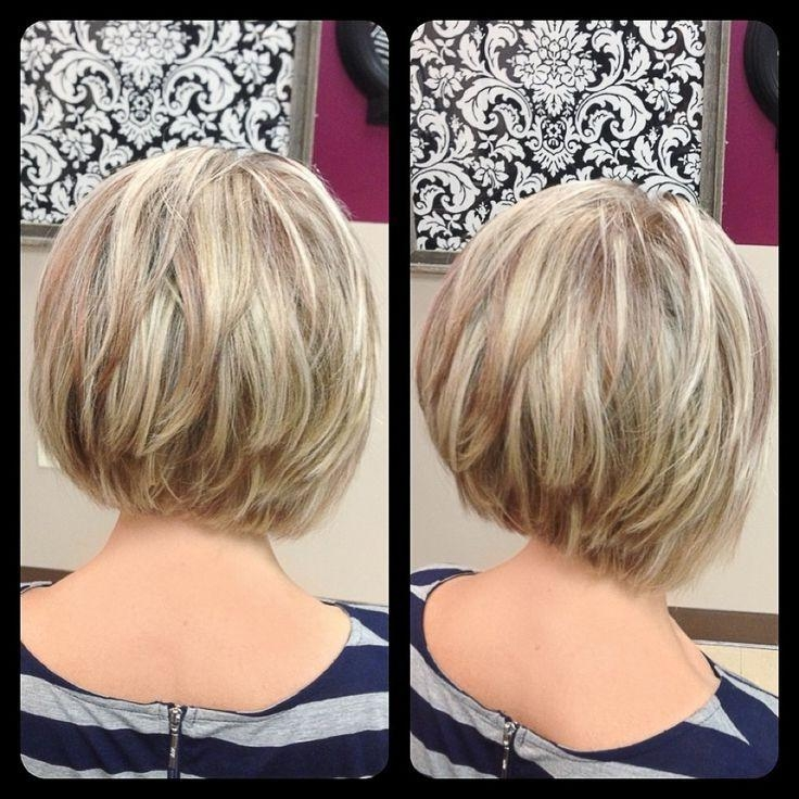 Best 25+ Layered Bob With Bangs Ideas On Pinterest (View 4 of 15)