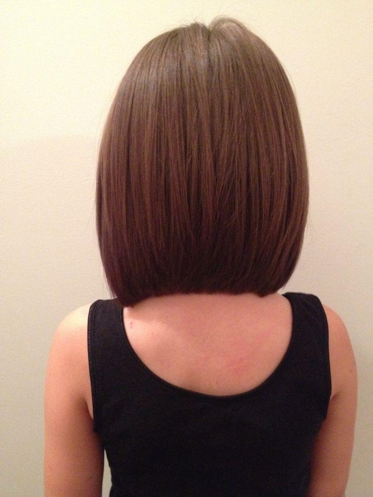 Best 25+ Long Angled Bob Hairstyles Ideas On Pinterest (View 15 of 15)