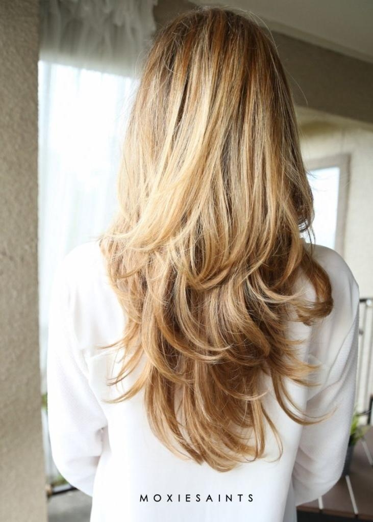 Best 25+ Long Blonde Haircuts Ideas On Pinterest | Blonde Long Throughout Blonde Long Hairstyles (View 12 of 15)