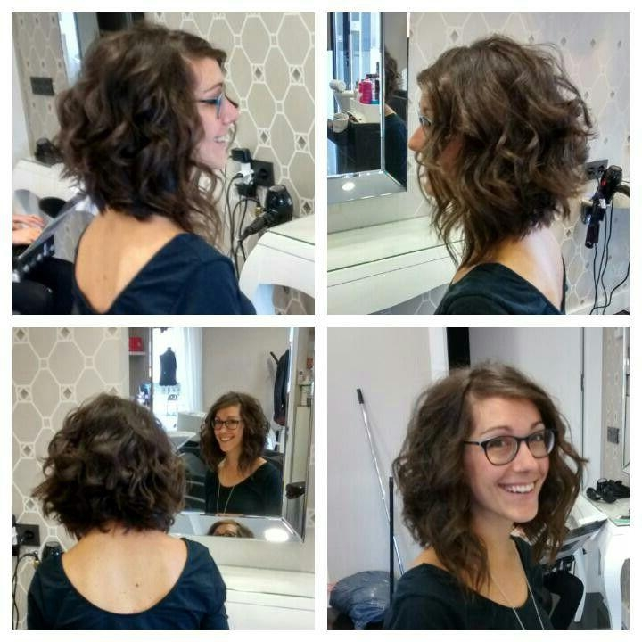 Best 25+ Long Curly Bob Ideas On Pinterest (View 3 of 15)