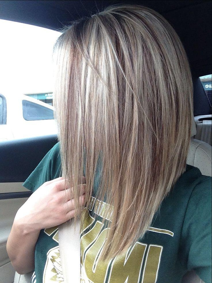 Best 25+ Long Inverted Bob Ideas On Pinterest (View 4 of 15)