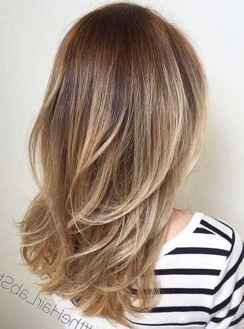 Best 25+ Long Layered Haircuts Ideas On Pinterest | Long Layered Intended For Layered Long Hairstyles (View 8 of 15)