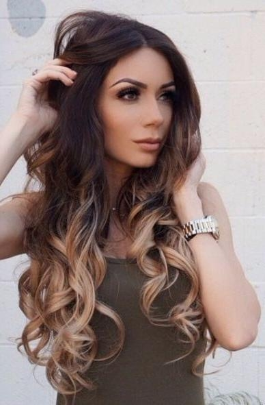 Best 25+ Ombre Hair Ideas On Pinterest | Ombre, Balayage Hair And With Ombre Long Hairstyles (View 8 of 15)