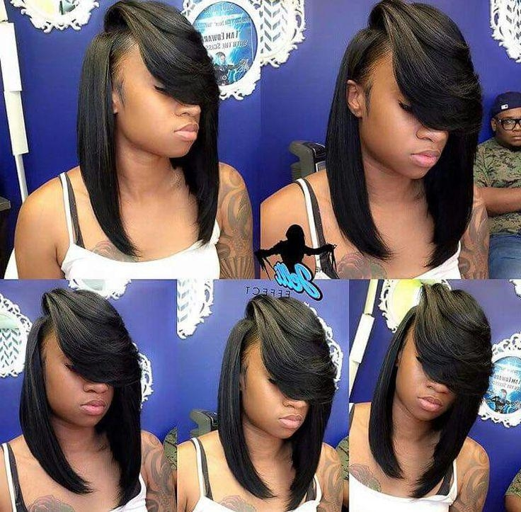 Best 25+ Quick Weave Hairstyles Ideas On Pinterest | Quick Weave Pertaining To Quick Weave Long Hairstyles (View 3 of 15)
