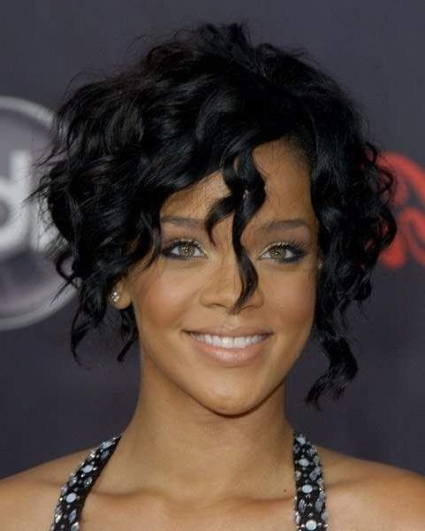 Best 25+ Rihanna Curly Hair Ideas On Pinterest (View 8 of 15)