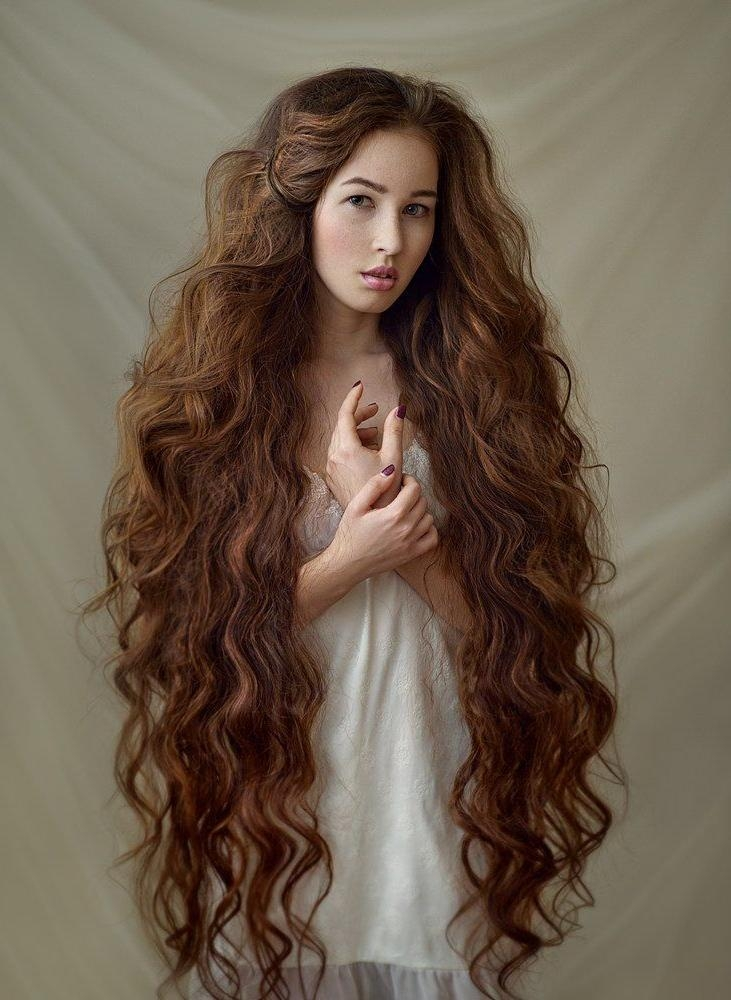 Best 25+ Super Long Hair Ideas On Pinterest | Grow Longer Hair With Super Long Hairstyles (View 8 of 15)