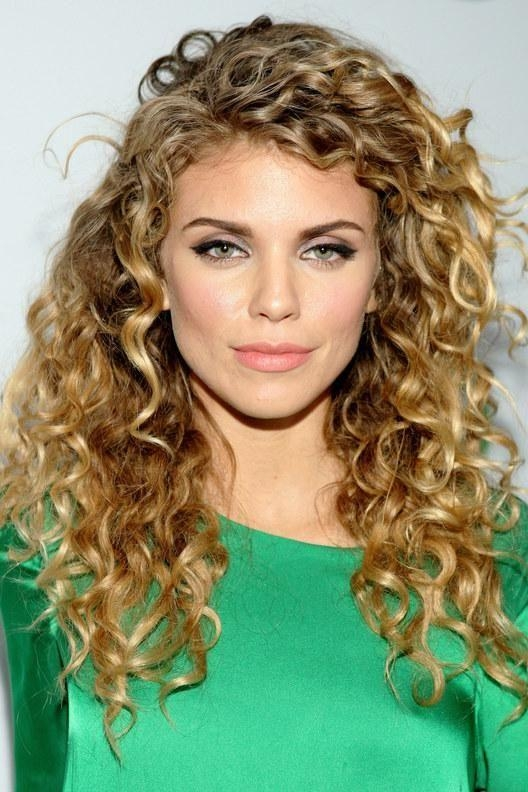 Best And Newest Curly Long Hairstyles Intended For Best 25+ Long Curly Hairstyles Ideas On Pinterest | Hairstyles (Gallery 14 of 15)