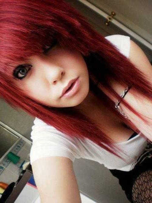 Best And Newest Emo Long Hairstyles Within 20+ Long Emo Haircuts | Hairstyles & Haircuts 2016 – (View 7 of 15)