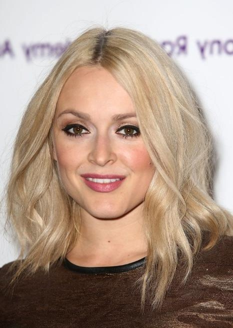 Best And Newest Fearne Cotton Shoulder Length Bob Hairstyles For Fearne Cotton Sexy Medium Wavy Hairstyle – Hairstyles Weekly (View 4 of 15)