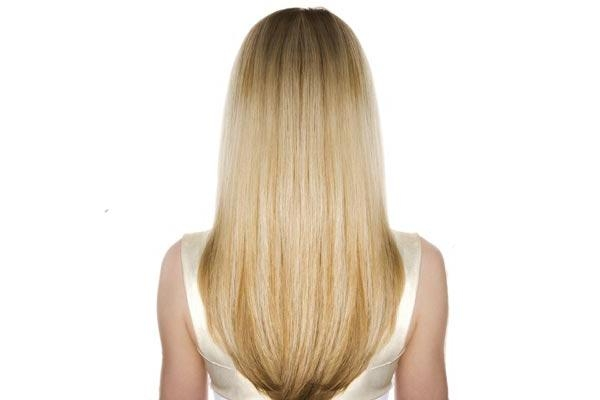 Best And Newest Long Haircuts From The Back Regarding Hairstylestars Shaped Back For Long Wavy Hair | Medium Hair Styles (View 6 of 15)
