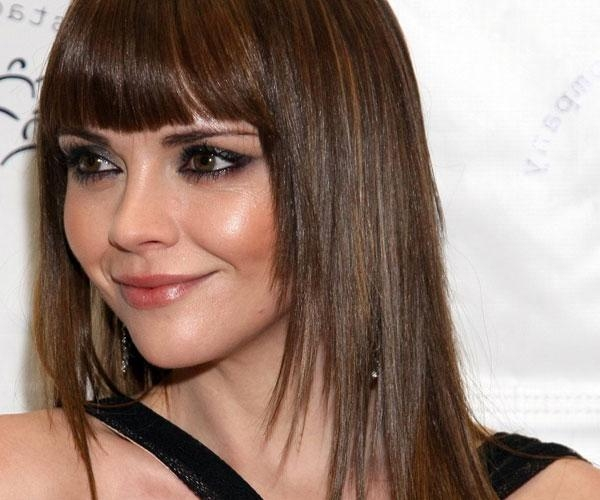 Best And Newest Long Haircuts With Bangs For Round Faces Pertaining To Long Haircuts Bangs For Round Faces | Medium Hair Styles Ideas – (View 6 of 15)