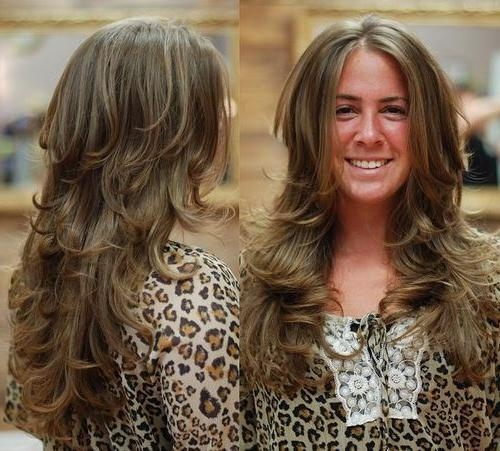 Best And Newest Long Hairstyles Feathered Layered Within Layered Hairstyles For Long Hair – Style Samba (View 6 of 15)