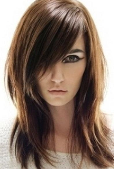 Best And Newest Modern Long Hairstyles Inside Best 25+ Long Shag Haircut Ideas On Pinterest | Long Shag (View 8 of 15)