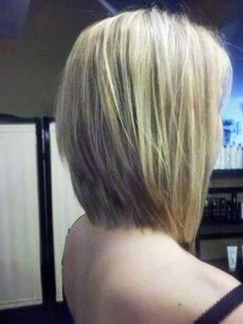Best And Newest Stacked Long Haircuts Throughout Long Stacked Bobs For Fine Hair In Straight Styles – Bobs –  (View 8 of 15)
