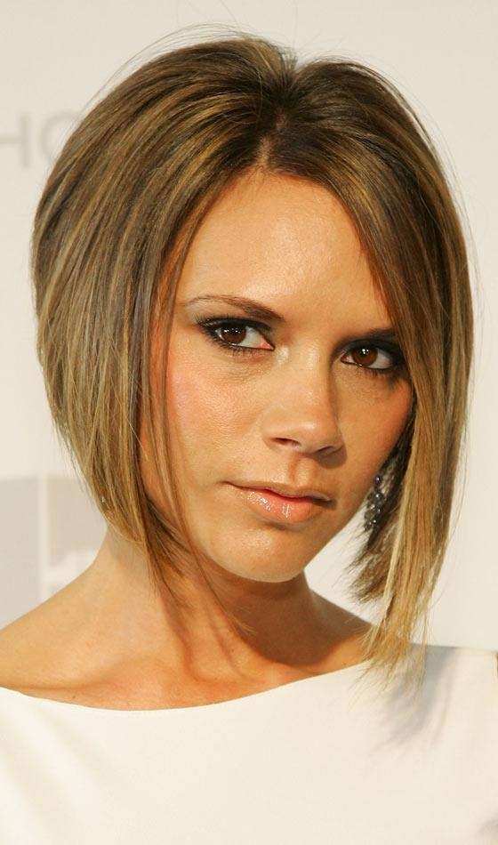 Best And Newest Victoria Beckham Graduated Choppy Bob Hairstyles With Regard To 10 Sexy Victoria Beckham's Bob Hairstyles (View 2 of 15)