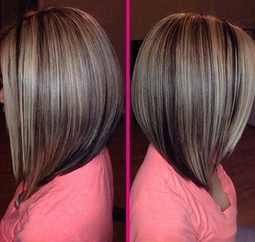 Best Long Angled Bob Haircuts (View 12 of 15)