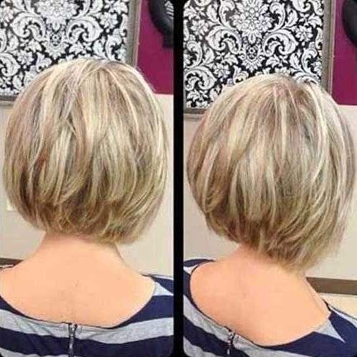 Bob Hairstyles 2015 – Short For Newest Cute Inverted Bob Hairstyles For Fine Hair (View 2 of 15)