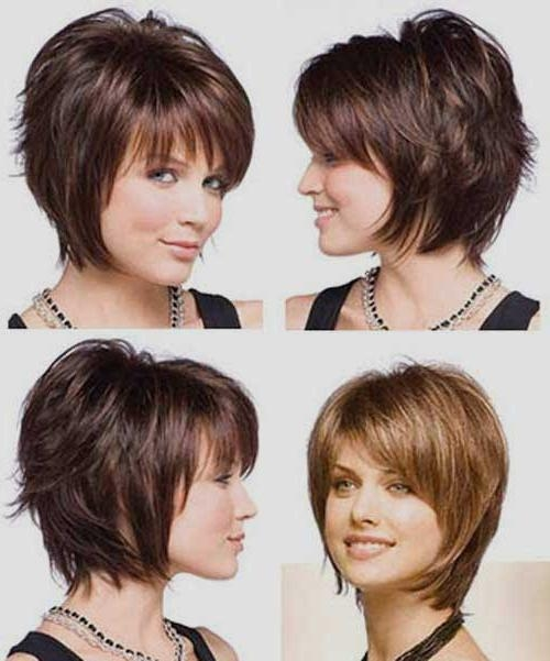 Bob Hairstyles 2017 – Short For Widely Used Short Stacked Bob Haircuts With Bangs (View 5 of 15)