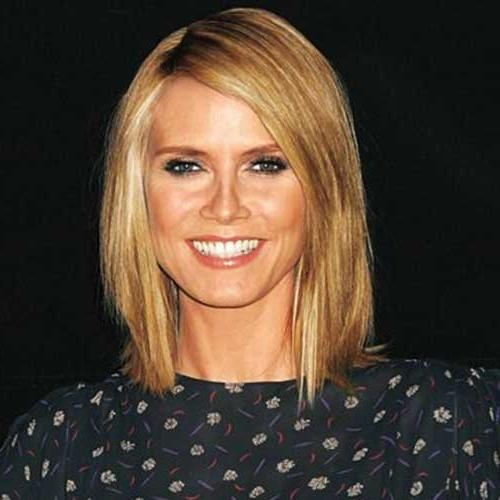 Bob Hairstyles 2017 – Short With Well Known Heidi Klum Shoulder Length Bob Hairstyles (View 13 of 15)