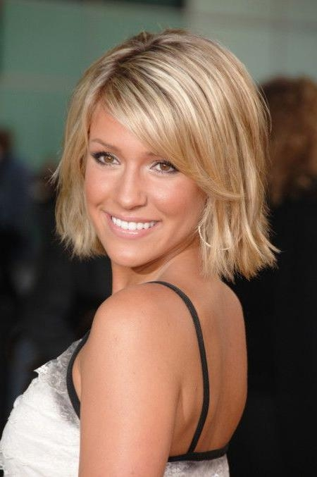 Braids, Kristin In Latest Kristin Cavallari Shoulder Length Bob Hairstyles (View 4 of 15)