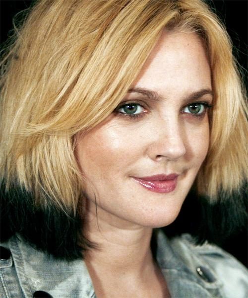 Celebrity Hairstyles Intended For Preferred Drew Barrymore Shoulder Length Bob Hairstyles (View 1 of 15)