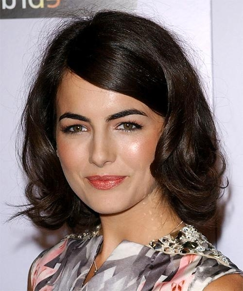 Celebrity Hairstyles Throughout Best And Newest Camilla Belle Shoulder Length Bob Hairstyles (View 4 of 15)