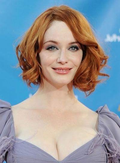 Christina Hendricks – Beauty Riot With Most Recent Christina Hendricks Bob Hairstyles (View 8 of 15)