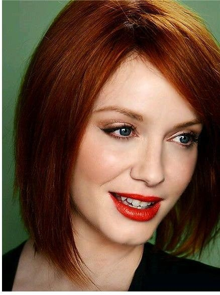 Christina Hendricks Bob Hairstyle (View 4 of 15)