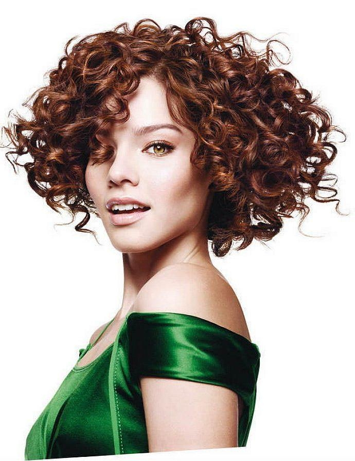 Curly Hair Fringe In Trendy Rihanna Side Swept Big Curly Bob Hairstyles (View 9 of 15)