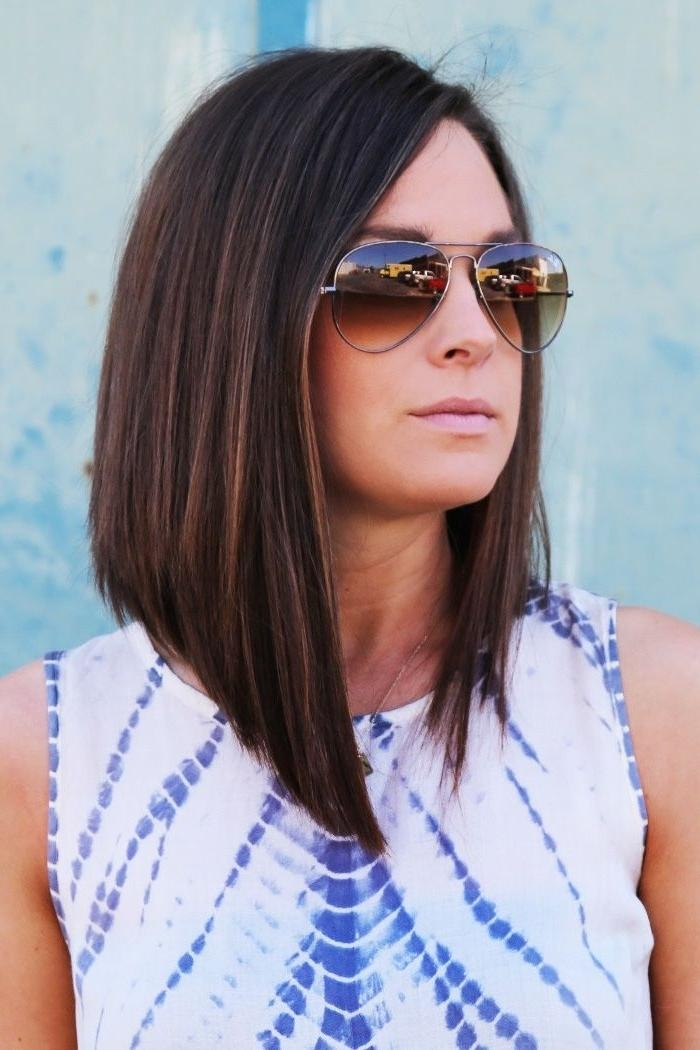 Current Angled Long Haircuts Throughout Best 25+ Long Angled Haircut Ideas On Pinterest | Long Angled Hair (View 6 of 15)