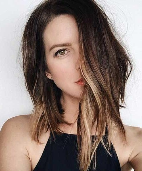 2018 latest asymmetrical long haircuts current asymmetrical long haircuts for best 25 long asymmetrical hairstyles ideas on pinterest funky winobraniefo Image collections