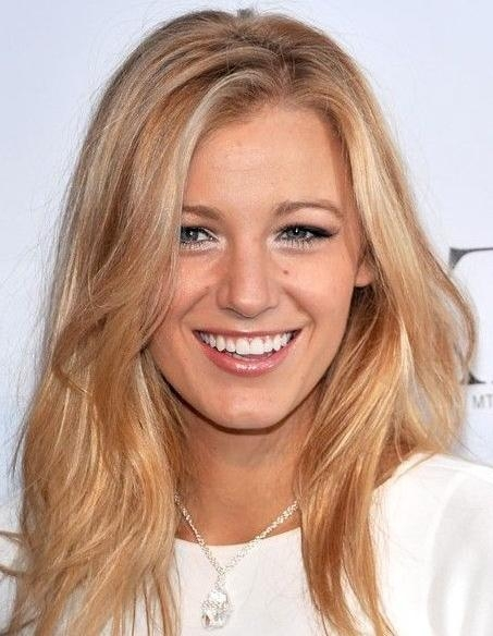 Current Blonde Long Haircuts Intended For Blake Lively's Long Hairstyles: Blonde Straight Hair – Popular (View 5 of 15)