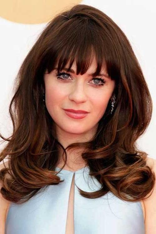 Current Brunette Long Haircuts Inside 25+ Brunette Hairstyles 2015 – 2016 | Hairstyles & Haircuts (View 12 of 15)