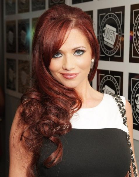 Current Chic Long Hairstyles With Amy Childs Long Hairstyles: Chic Curls – Popular Haircuts (View 4 of 15)
