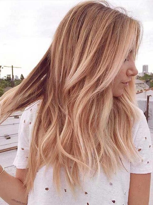 Current Cute Medium Long Hairstyles Pertaining To Best 25+ Medium Long Haircuts Ideas On Pinterest | Brown Hair Cuts (View 5 of 15)