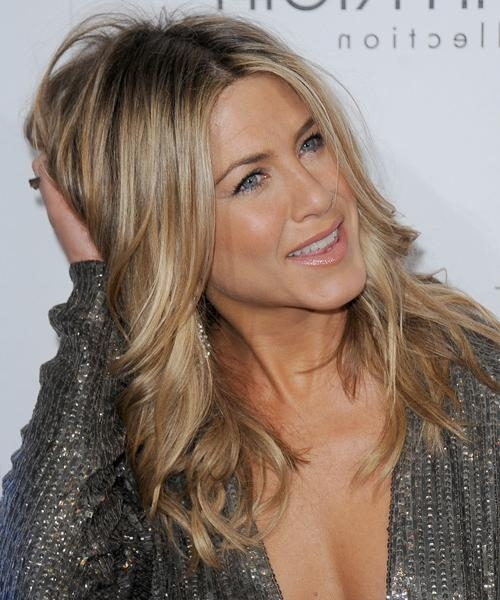 Current Jennifer Aniston Long Haircuts Throughout Jennifer Aniston Hairstyles For 2017 | Celebrity Hairstyles (View 7 of 15)