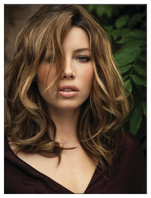 Current Jessica Biel Shoulder Length Bob Hairstyles Regarding 276 Best Curly Hair Images On Pinterest (View 5 of 15)