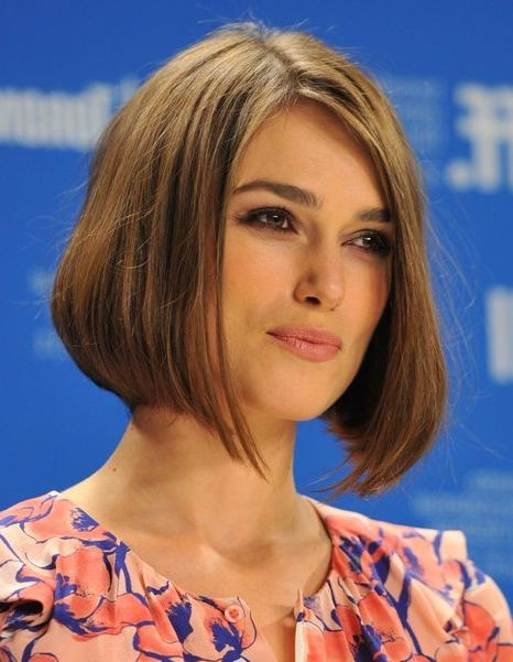 Current Keira Knightley Bob Hairstyles Throughout Straight, Bob Hairstyles,keira Knightley Short Haircut – Popular (View 14 of 15)