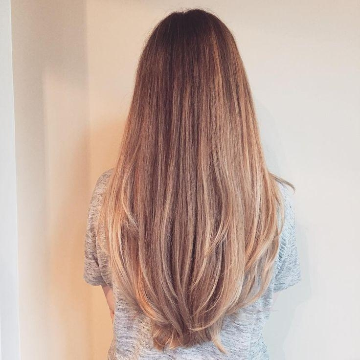 Current Long Haircuts In Layers With The 25+ Best Long Layered Hair Ideas On Pinterest | Layered (View 15 of 15)