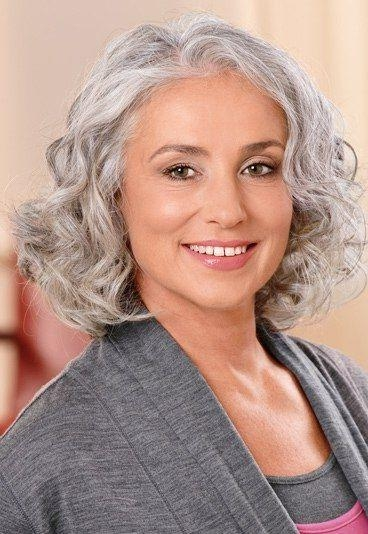 Current Long Hairstyles For Grey Haired Woman Regarding Weiche Traumwellen | Shoulder Length Hair, Shoulder Length And (View 5 of 15)