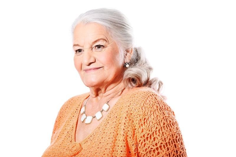 Current Long Hairstyles For Older Ladies Regarding Long Hairstyles For Elderly Women | Lovetoknow (View 5 of 15)