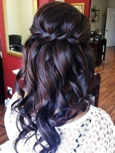 Current Long Hairstyles For Wedding Party Pertaining To 30 Hottest Bridesmaid Hairstyles For Long Hair – Popular Haircuts (View 5 of 15)