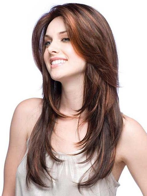 Current Long Hairstyles For Women Pertaining To 16 Great Layered Hairstyles For Straight Hair 2017 | Straight Hair (View 5 of 15)