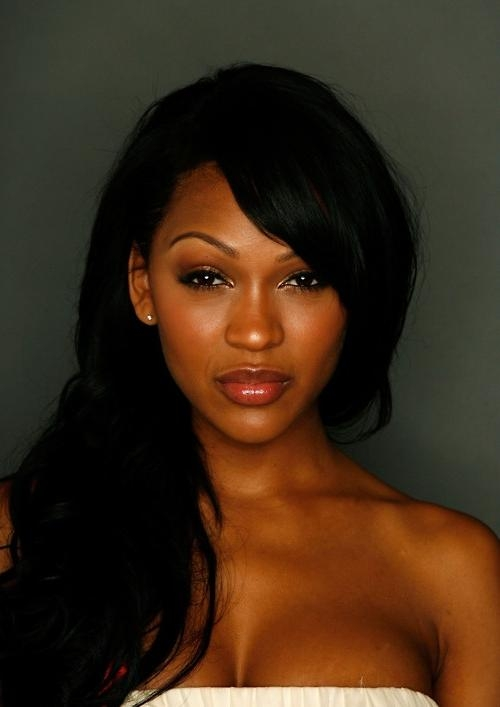 Current Meagan Good Long Hairstyles Inside 18 Best Meagan Good Images On Pinterest | Black Girls, Black (View 5 of 15)