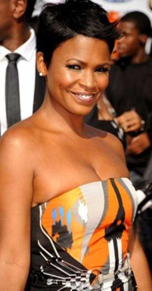 Current Nia Long Hairstyles Pertaining To 15+ Nia Long Pixie Cuts | Hairstyles & Haircuts 2016 – (View 7 of 15)
