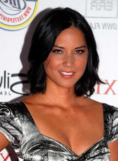 Current Olivia Munn Shoulder Length Bob Hairstyles Pertaining To Olivia Munn – Beauty Riot (View 3 of 15)
