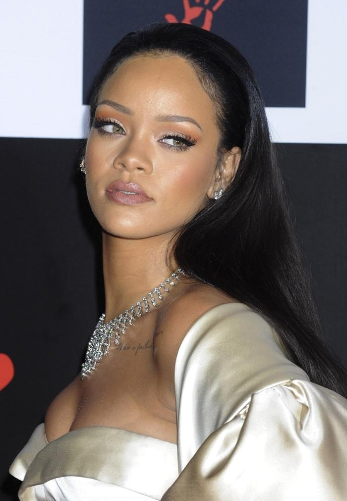 Current Rihanna Long Hairstyles For Rihanna Hairstyles: Photos Of Rihanna's Best Hair Moments (View 2 of 15)
