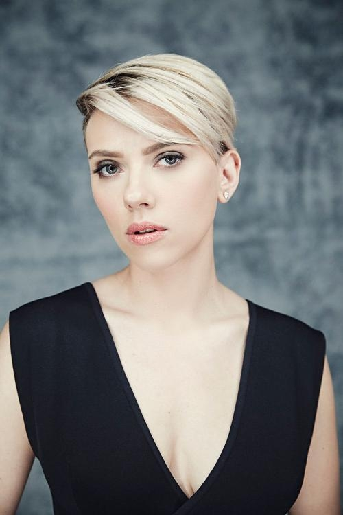 Current Scarlett Johansson Asymmetrical Choppy Bob Hairstyles With Regard To 10 Of The Hottest Haircuts Right Now – Hair World Magazine (View 8 of 15)