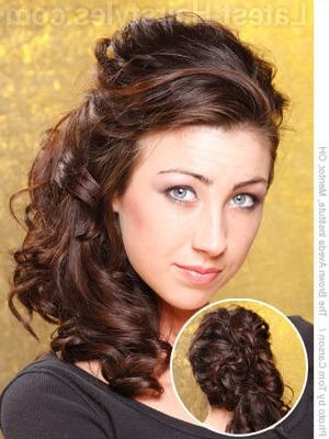 Current Side Long Hairstyles In 11 Romantic Side Ponytails For Long Hair (View 5 of 15)