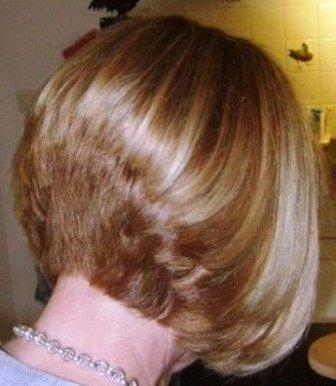 Current Stacked Bob Hairstyles Back View For Variations Of Bob Hair Cuts (View 10 of 15)